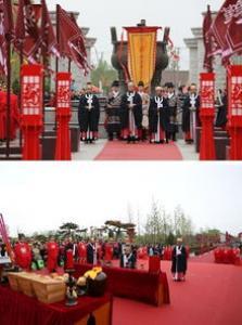中国献王第二届汉文化节 汉服有礼传承华夏文明
